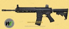 HK416 GBB (Black/ No Marking) by WE
